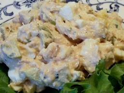 Салат з кальмарами і сиром