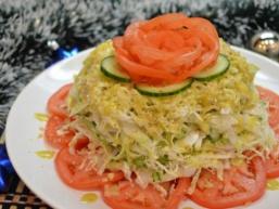 Листковий капустяний салат