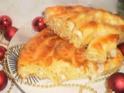 Листковий пиріг з сиром