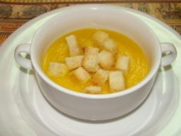 Суп пюре з гарбуза