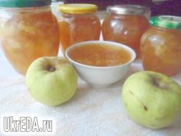 Яблучно-імбирний джем