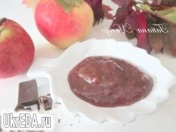 Яблучно-шоколадний джем