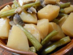 Пісна тушкована картопля