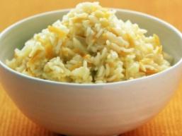 Рис з імбиром і цибулею