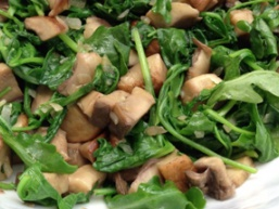 Салат з грибами вегетаріанський