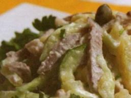 Салат з каперсами