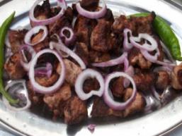 Шашлик зі свинини з ялиновим ароматом