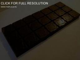 Шоколад чорний