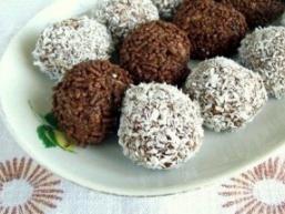 Шоколадні кульки без випічки