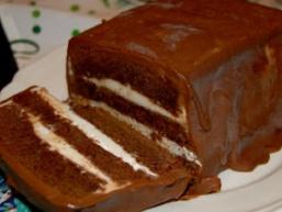 Шоколадний торт-морозиво
