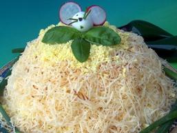 Листковий салат «Гості на порозі»