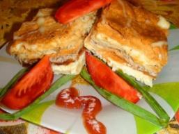 Листковий закусочний пиріг