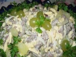 Сирно салат з серцем