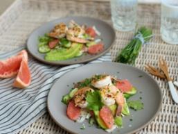 Тайський салат з грейпфрутом