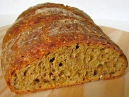Томатний хліб з часником