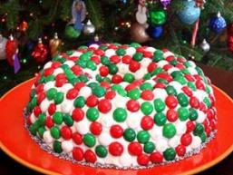 Торт «Різдвяний вінок»