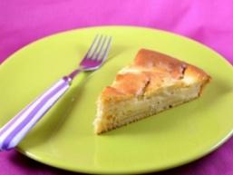 Гарбузовий пиріг з яблуками